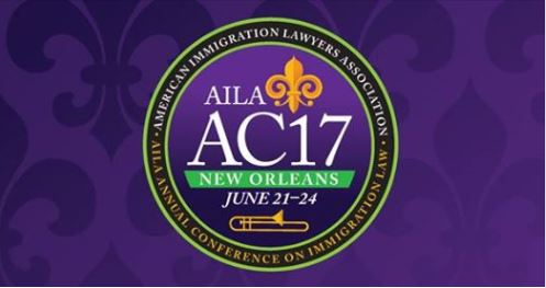 AILA National Annual Conference  – June 15, 2017