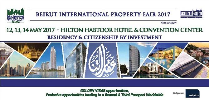 Beirut International Property Fair – May 12, 2017