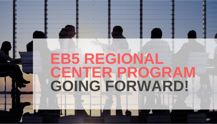 The EB5 Regional Center Program Going Forward.