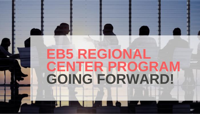 The EB5 Regional Center Program Going Forward.