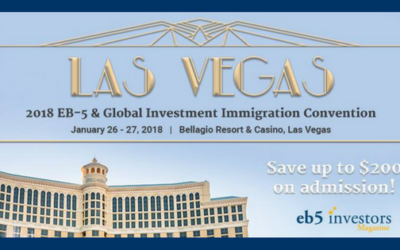 Las Vegas EB-5 & Global Investment Immigration Convention – January 26-27, 2018